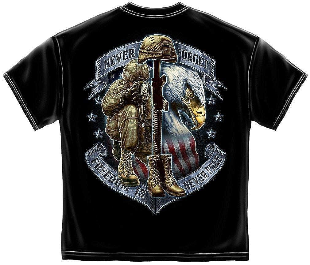 Clara Warren Erazor Bits Freedom is Never Free T Shirt MM2272