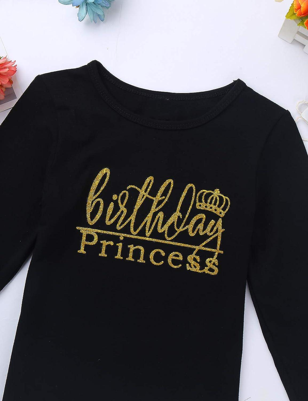 MSemis Baby Girls Fancy Shinny Polka Dots Birthday Outfit Racer-Back Shirt and Mesh Tutu Skirt Set