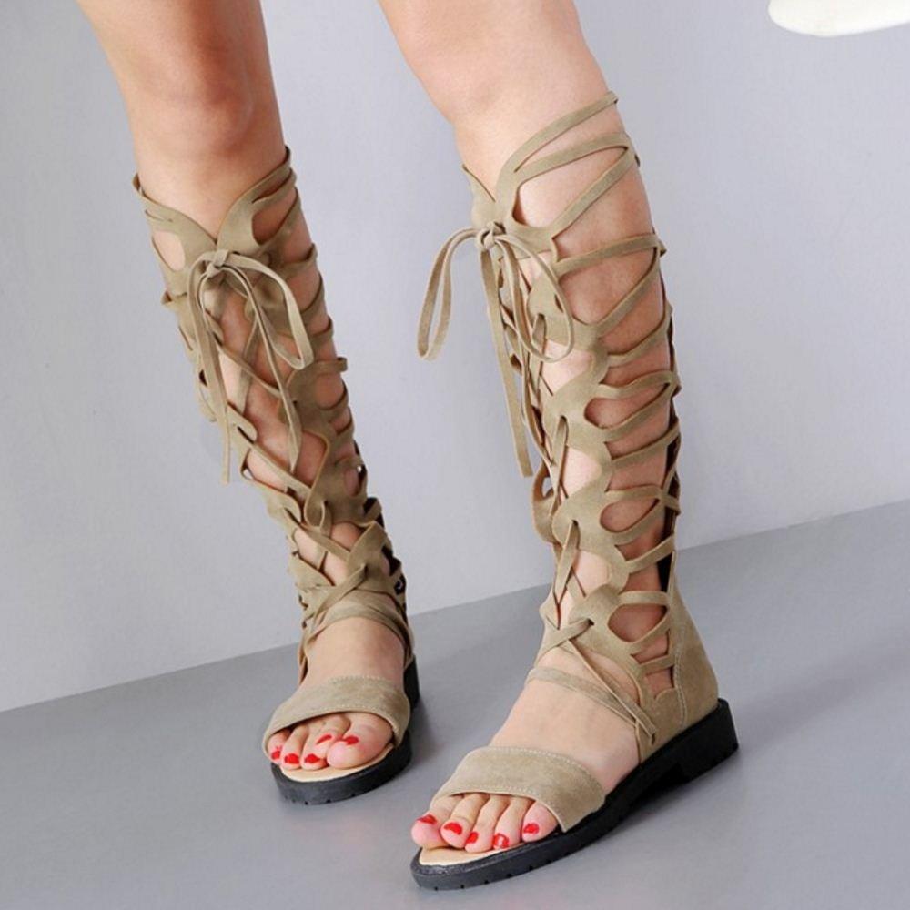 Zanpa Women Flats Sandals Gladiator