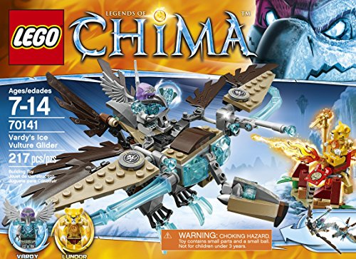 LEGO Chima 70141 Vardys Ice Vulture Glider Building Toy