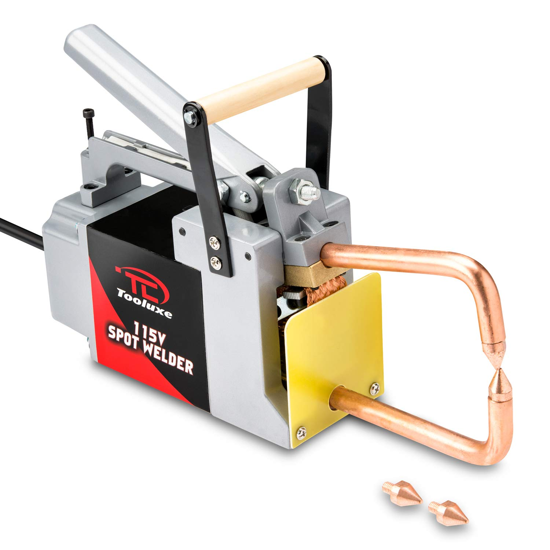 Tooluxe RIDGE10915L Professional 115 V Electric Spot Welder, 1/8' 1/8 Ridgerock Tools Inc.