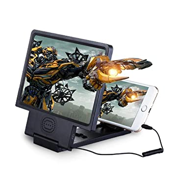 Tinffy 8.5inch Mobile Phone Screen Magnifier Expander Stand for Movie Video Stands