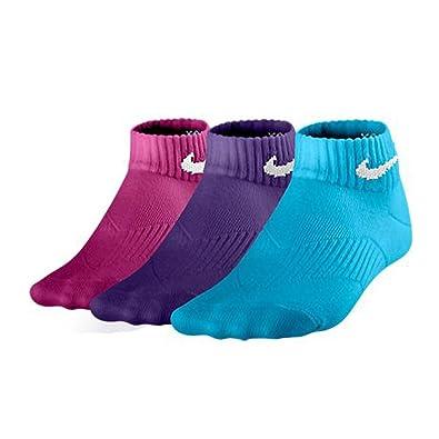 Nike Paquete de 3 Calcetines Bajos para Niña con manejo de Humedad Niñas
