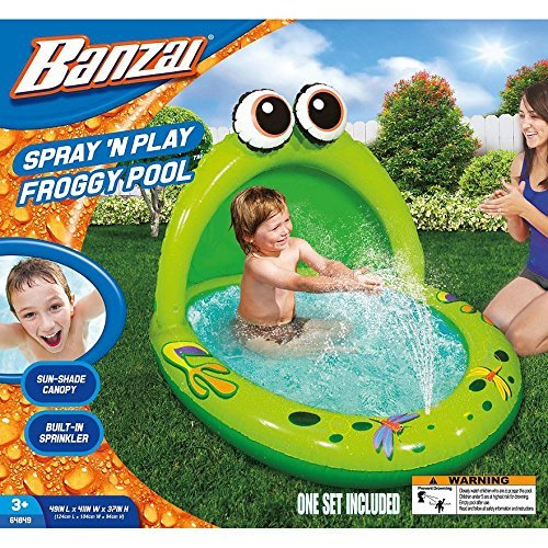 Spray 'N Play Froggy Pool by Banzai by Banzai