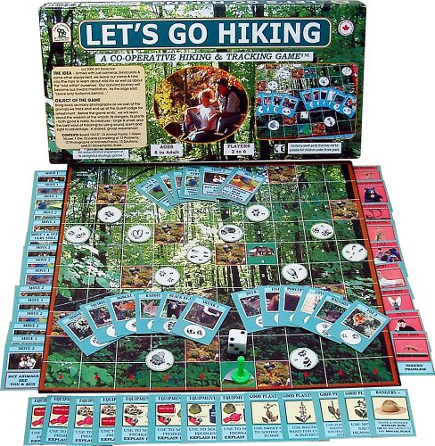 Family Pastimes Let's Go Hiking - A Co-Operative Hiking and Tracking Game (Board Game Herb)