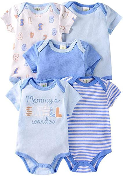 Baby Onesies Colorado Pet 100/% Cotton Bodysuits Cute Short Sleeve Bodysuit