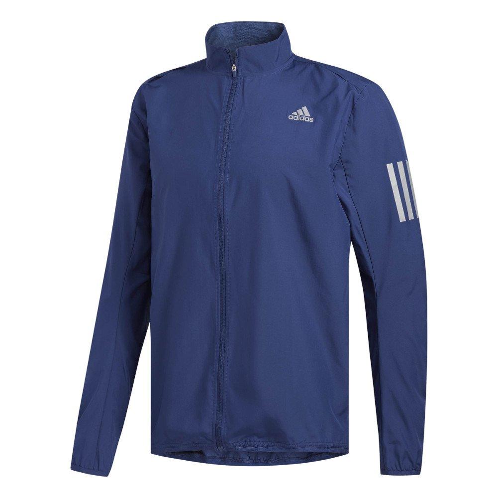 adidas Men's Running Response Wind Jacket, Noble Indigo, X-Large