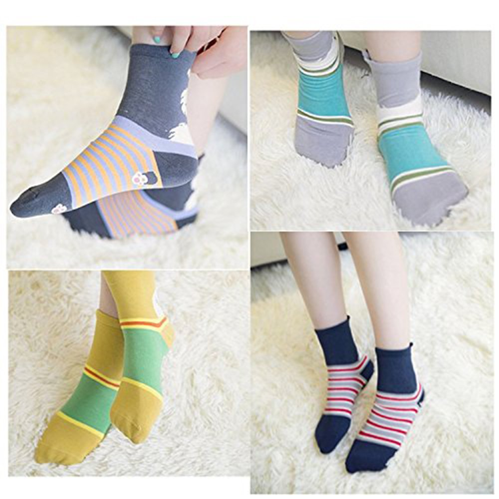 Women\'s Animal Cotton Socks Cute Dog Printed Crew Ankle Funny Casual Novelty for Ladies Sock