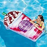 Intex Inflatable Berry Pink Splash Swimming Pool Float, Multi-Colored, n.a