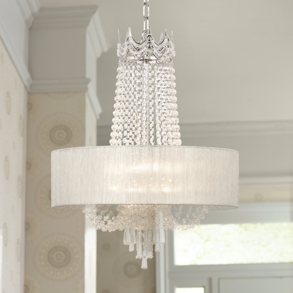 Hallie 21 wide clear crystal chandelier amazon aloadofball Choice Image