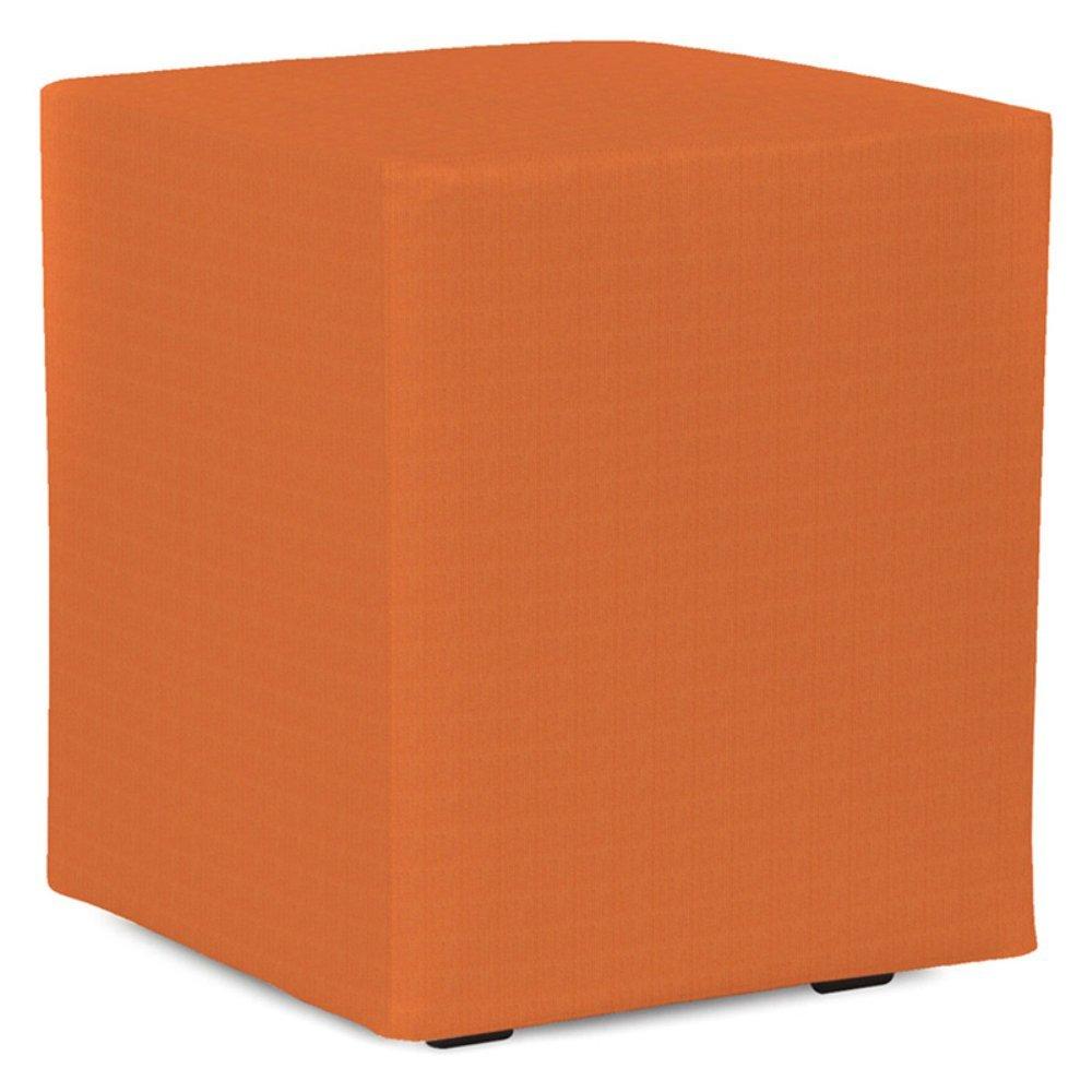 Howard Elliott Q128-297 Universal Cube Patio Ottoman, Seascape Canyon