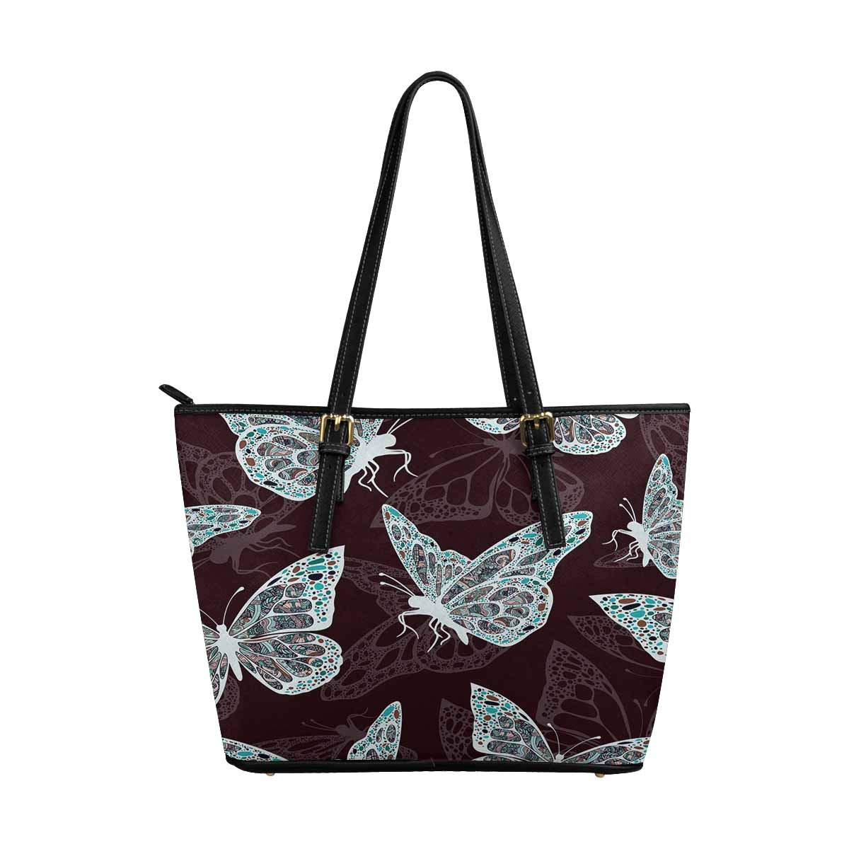 InterestPrint Women Totes Top Handle HandBags PU Leather Purse