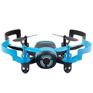 BEETEST 512V Drone Mini 4 canal 6 ejes 2.4 GHz RC girocompás Drone Quadcopter helicóptero de juguete con 0.3MP cámara Dorado