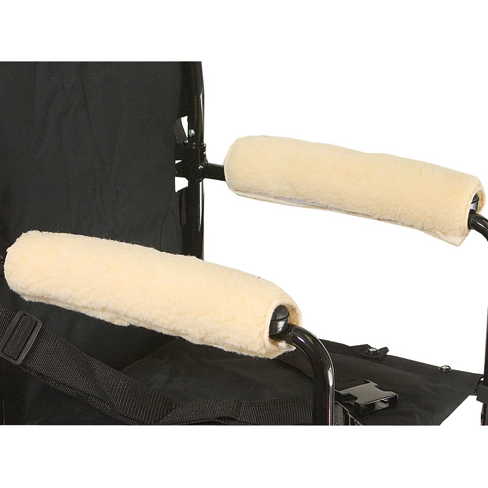 Rose Health Care L l c Wheelchair Armrests Fleece Pair for Desk Arms 10 to 11 Part No.3009-10