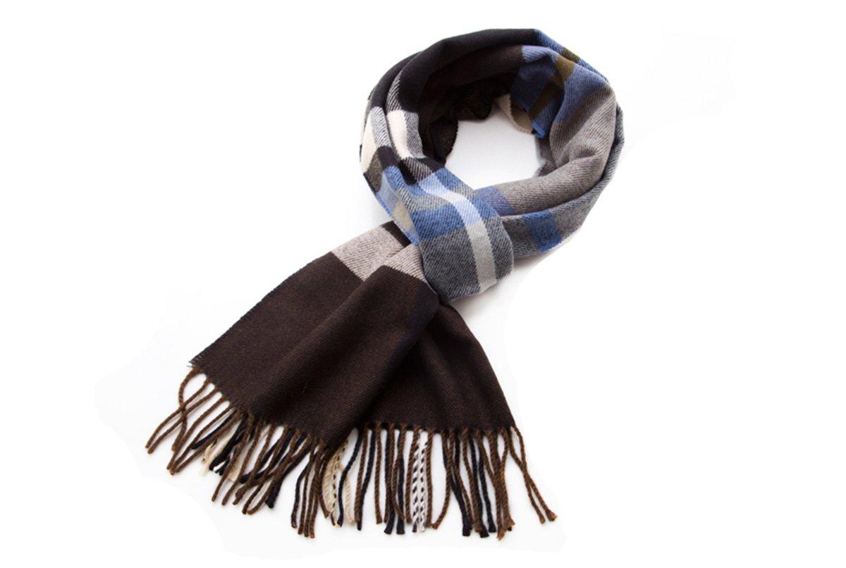 Apparelsales-Mens-Winter-Windproof-Scarf-Shawl-Neckerchief-Wraps-Muffler