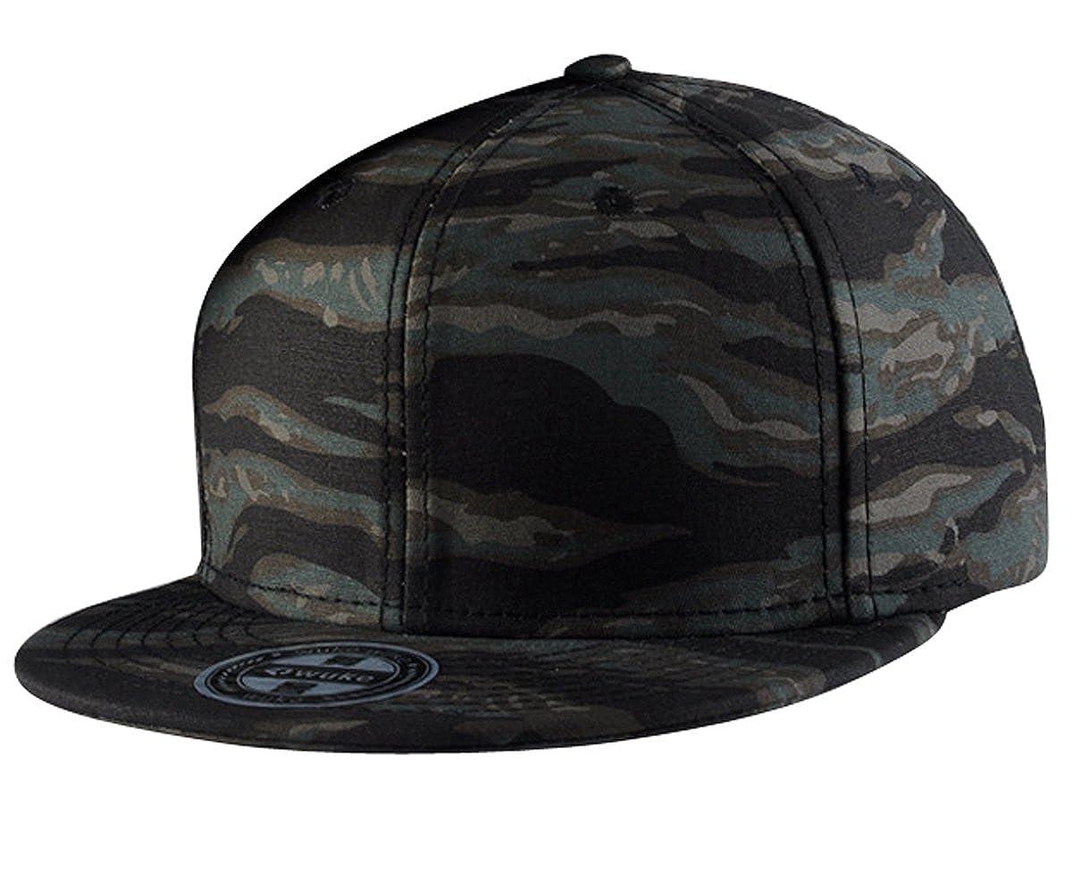 cc4edaca503d0 Aivtalk - Gorra de Béisbol Unisex Camuflaje Hip Hop Snapback Sombrero Plano  Dance Hat Moda Accesorio