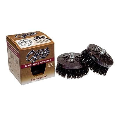 Cyclo (76-870x2-2PK) Scrub Brush with Black Stiff Bristles, (Pack of 2): Automotive