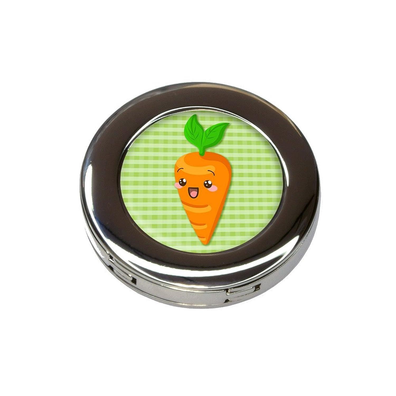 Cute Carrot Foldable Retractable Purse Bag Handbag Hook Hanger Holder