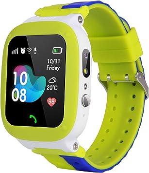MeritSoar Tech Niños Smart Watch Phone - WiFi + LBS Smartwatch ...