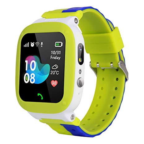 MeritSoar Tech Niños Smart Watch Phone - WiFi + LBS ...