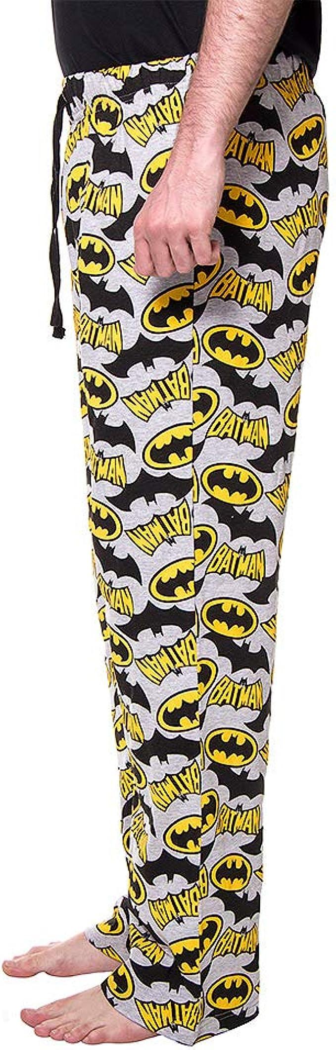 Batman Logo Pantalones de pijama multicolor S: Amazon.es: Ropa y ...