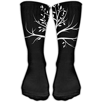 YUANSHAN Socks The Branches Women & Men Socks Soccer Sock Sport Tube Stockings Length 11.8Inch