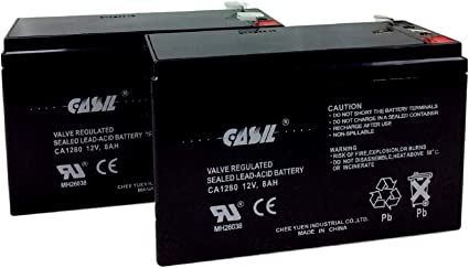 Mighty Max Battery 12V 7.2Ah Compatible Battery for APC Back-UPS 550 BE550G 8 Pack Brand Product