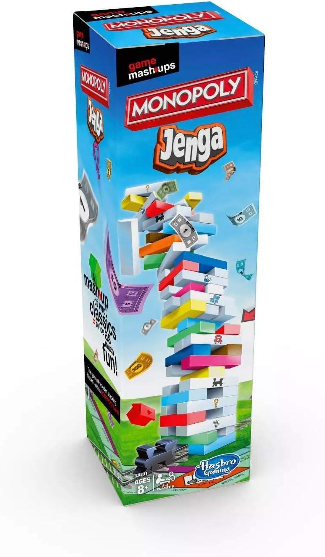 Game Mashups Monopoly Jenga Juego: Amazon.es: Juguetes y juegos