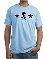 CafePress - Nautical Star & Skull - Fitted T-Shirt, Vintage Fit Soft Cotton Tee