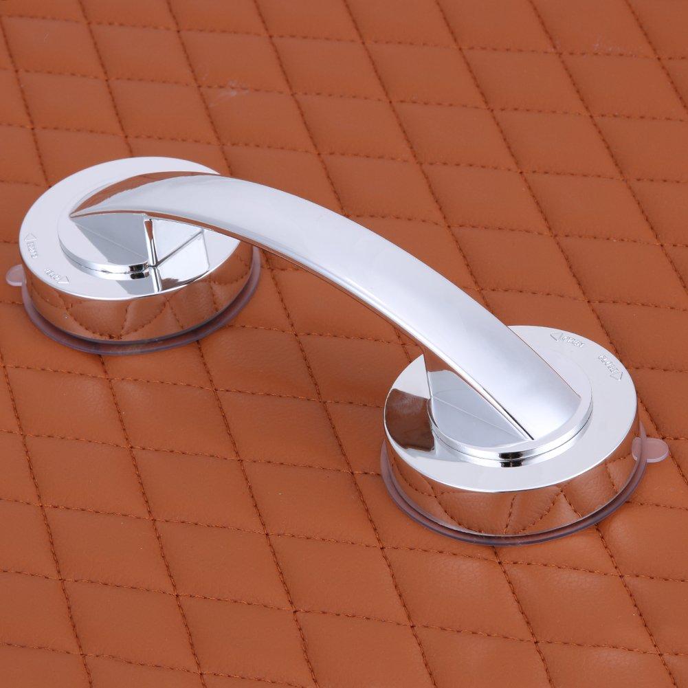 starnearby Unterst/ützung Grip Haltegriff Free Installation Saugnapf Handlauf f/ür Glas T/ür Badezimmer B/üro /Ältere