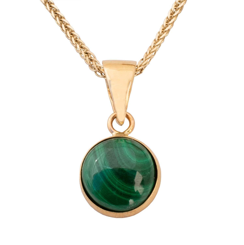 86.Carat Natural Malachite Pendant Size 59x25x7MM,Malachite Healing Jewelry,Gem Pendant macrame necklace
