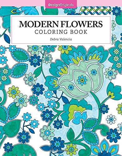 Modern Flowers Coloring Color Studio product image