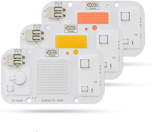 LED Grow Light Diode Driverless Solderless COB//DOB led grow light chip.