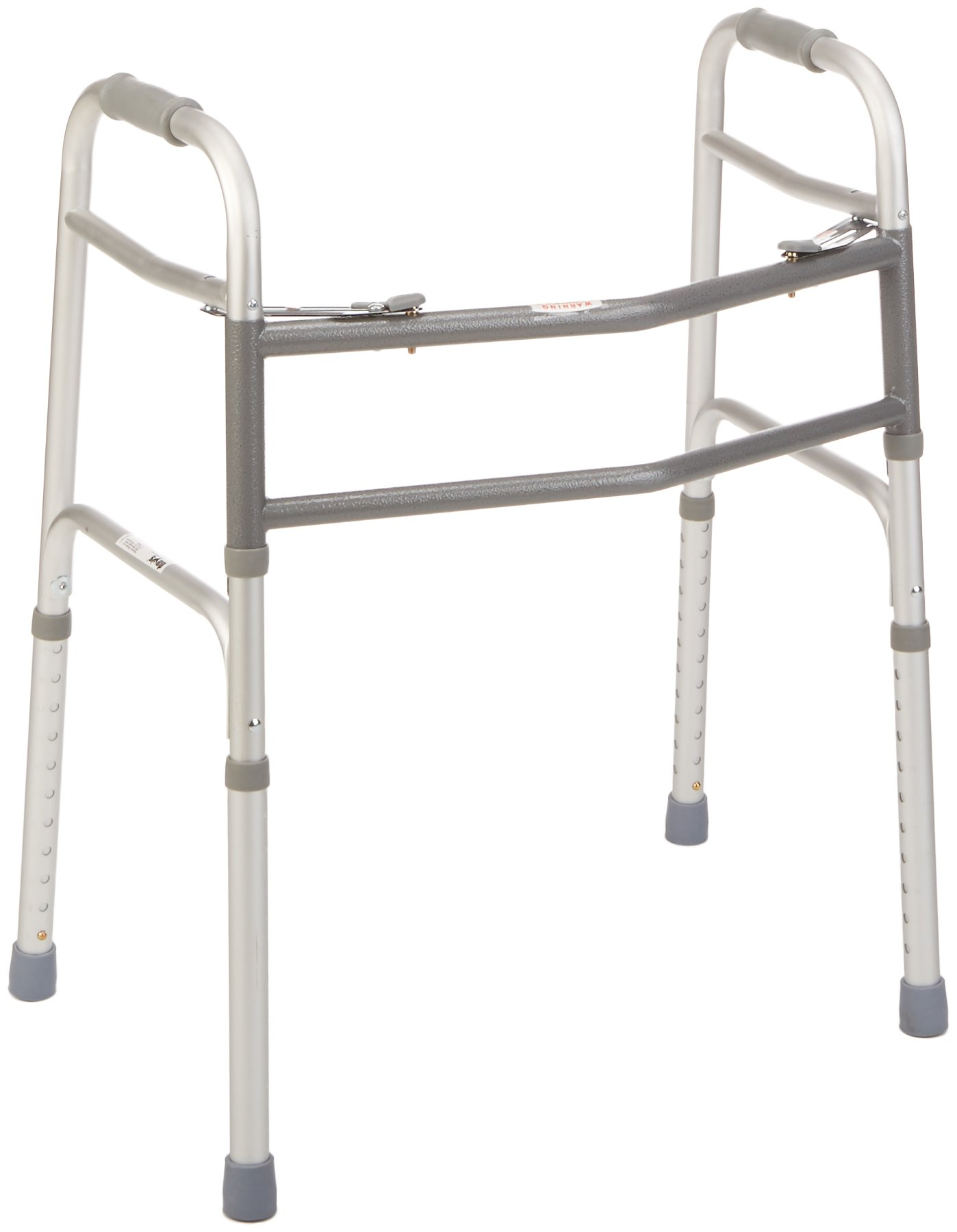 Days Bariatric Walker for Elderly and Handicapped, Extra Wide Adjustable Walker with Heavy Duty Support and Dual Release Locking, Mobility Assistance for Tall and Large Individuals by S-Day