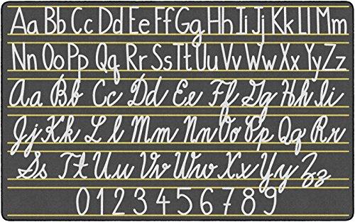 Flagship Carpets FE288-44A Handwriting Samplers, Multi