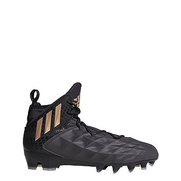adidas Freak Lax Mid Cleat - Unisex Lacrosse 8.5 Black Copper Metallic Black ce7697d11