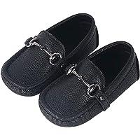 ggudd Niño Zapatos Vestir Ponerse Mocasines Hebilla Comodas
