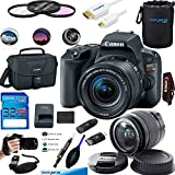 Canon EOS Rebel SL2 Kit with EF-S 18-55mm f/4-5.6 IS STM Lens Digital SLR Cameras (Black) - Deal-Expo