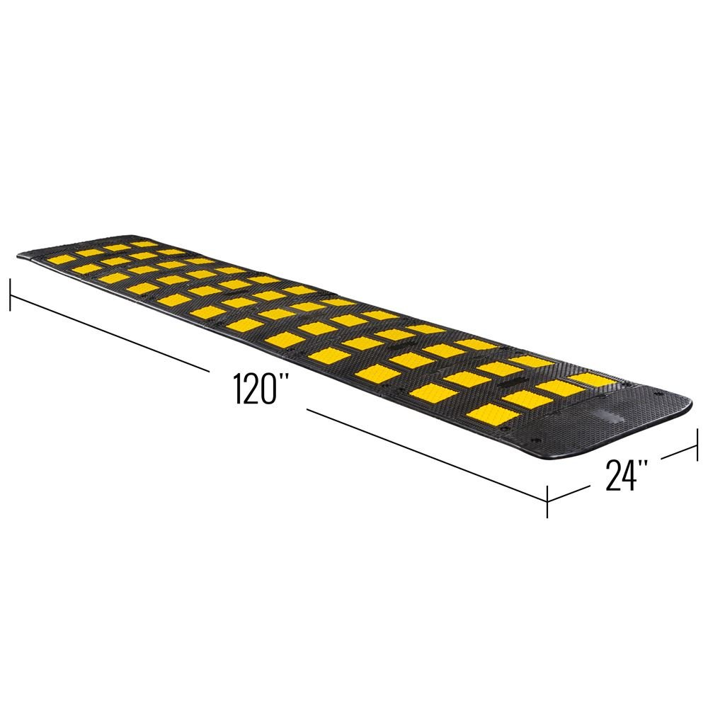 Guardian 10' x 2' Single Lane Speed Hump by Guardian Industrial Products (Image #3)