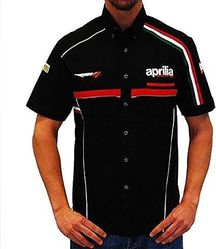 Aprilia Racing mundo Superbike Paddock camisa: Amazon.es: Coche y moto