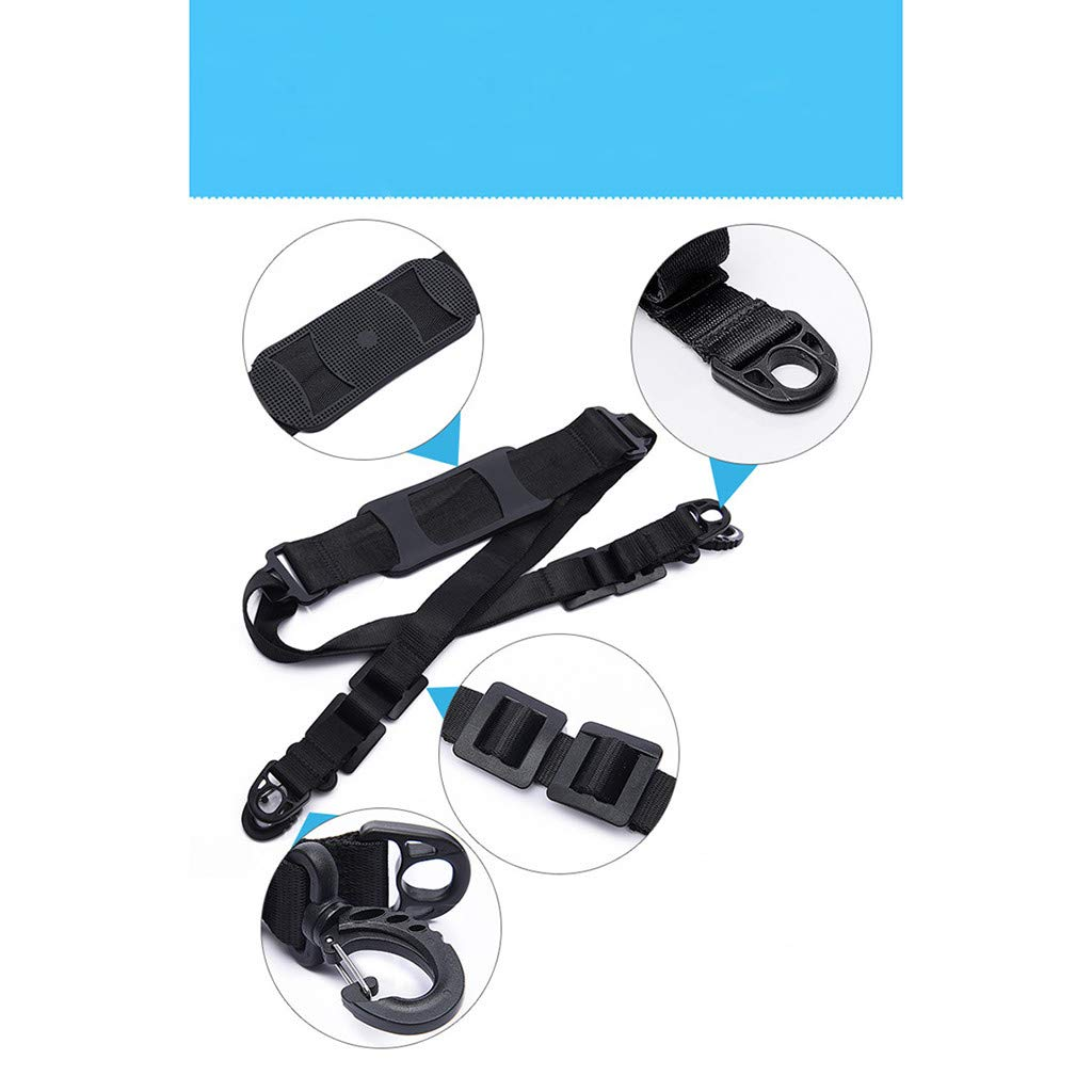 Heavy Weight Bearing Shoulder Strap,for Xiaomi Mijia M365 Scooter Skateboard Hand Carrying Handle Shoulder Straps Belt Webbing Band Efaster Electric Skateboard Back Belt,Bicycle Strap