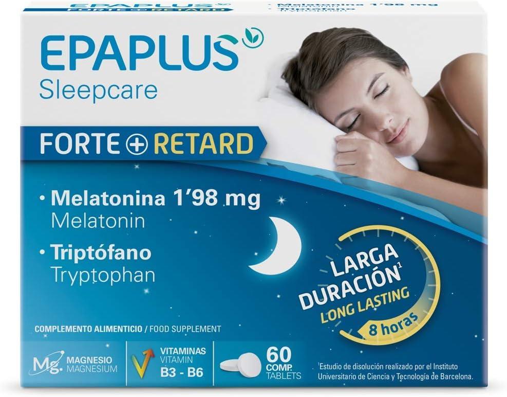 Epaplus Melatonina Retard 1.98 Mg y Triptofano - 60 Unidades ...
