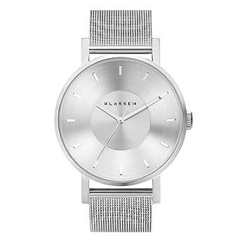 94b609980d4a ブレスレット付 【クラス14】 KLASSE14 腕時計 VOLARE MESH SILVER 42mm シルバー メッシュベルト メンズ