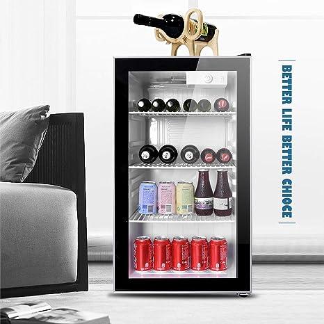Northair - Nevera y refrigerador con puerta reversible de cristal ...
