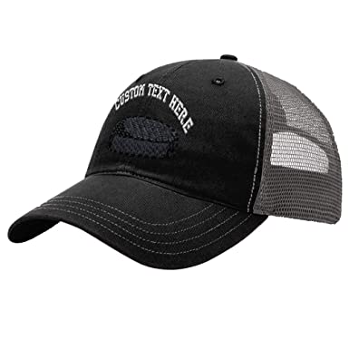 Custom Hockey Pack Unisex Adult Snaps Cotton Richardson Unstructured Front  and Mesh Back Cap Adjustable Hat 6723df73665