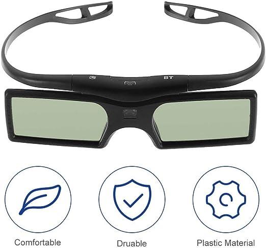 creatspaceE - Gafas de Obturador 3D para Samsung y Panasonic para ...