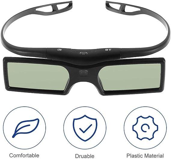 Leoboone 1pc 3D Shutter Gafas activas para Samsung/para Panasonic para Sony 3DTVs Universal TV Gafas 3D: Amazon.es: Electrónica