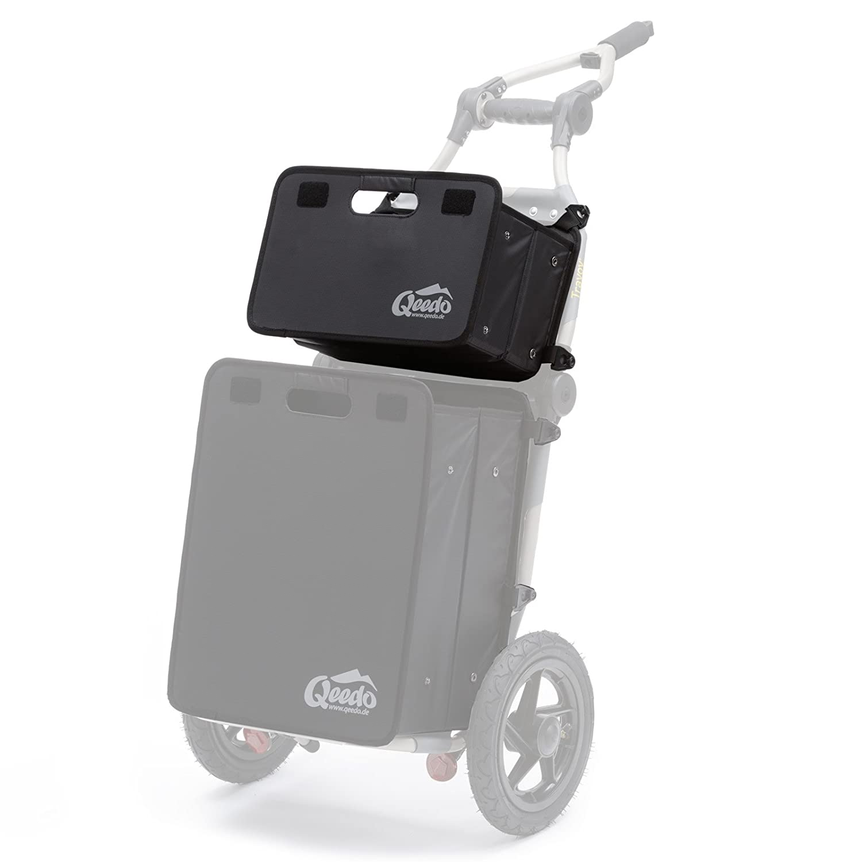 Qeedo Quick Case Scatola pieghevole adeguati per Burley Travoy - Upper 20l
