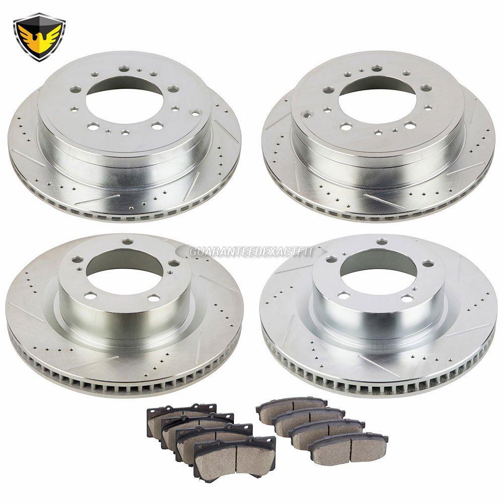 Duralo 153-1173 Brake Pad and Rotor Kit - Duralo 153-1173 New