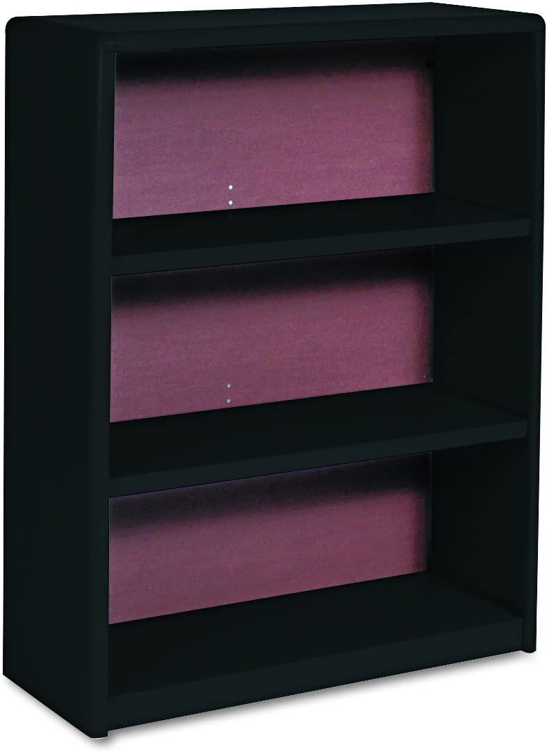 Safco Products ValueMate Economy Bookcase, 3-Shelf, Black